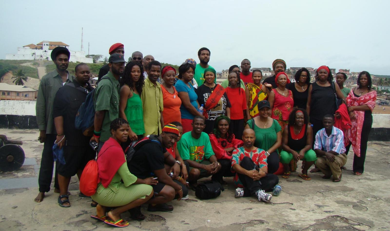 Ghana Roots, Culture & Repatriation Tour Group Oct 2008