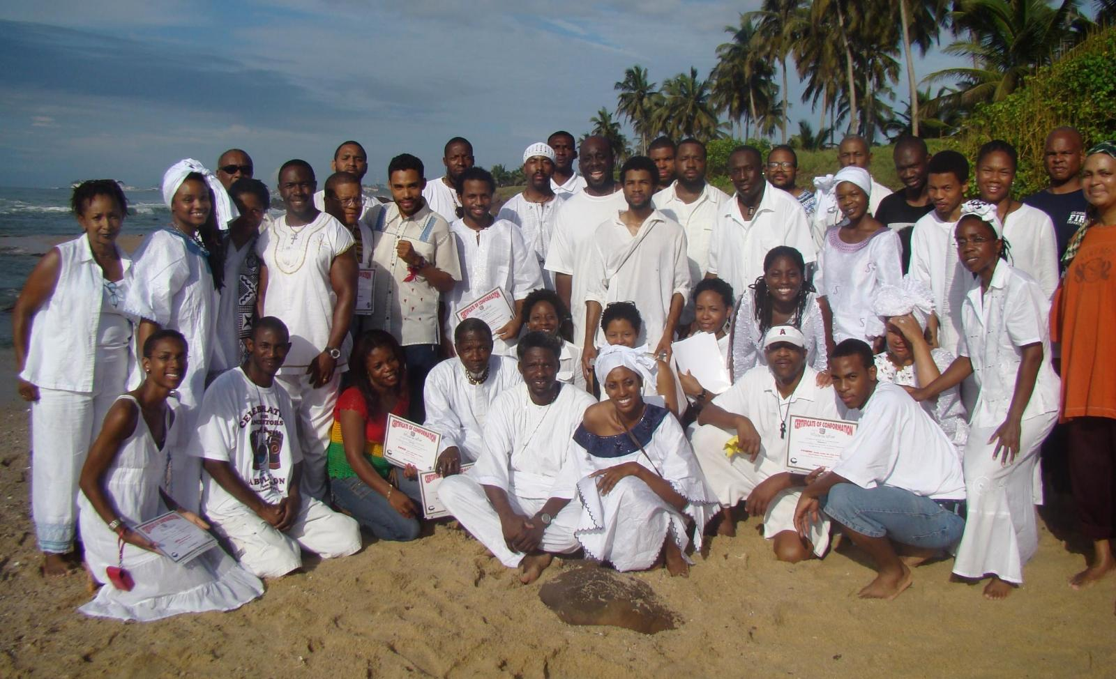 Ghana Roots, Culture & Investment Tour Group Oct 2007
