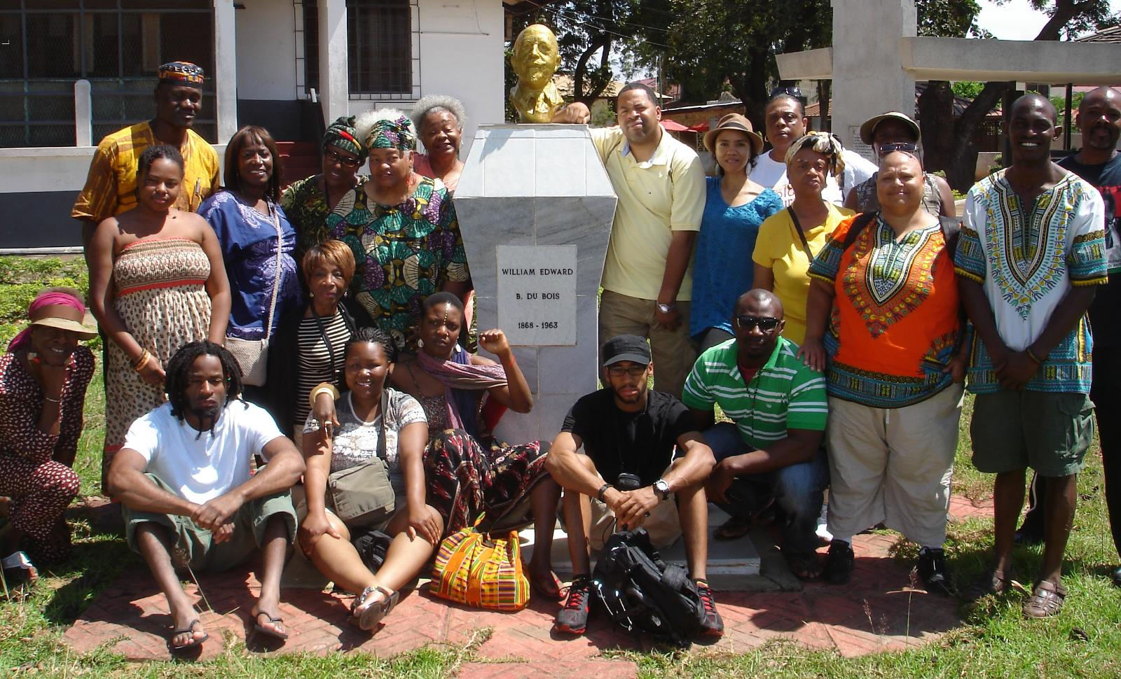 Ghana Repatriation & Investment Tour Group Oct 2011