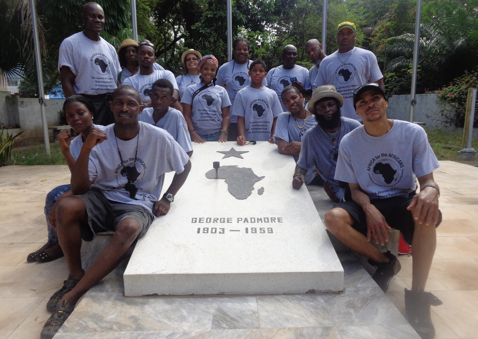 Ghana Repatriation & Investment Tour Group Oct 2014